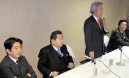 Abe, Nakagawa H., Koizumi, Ishihara; platypus not pictured