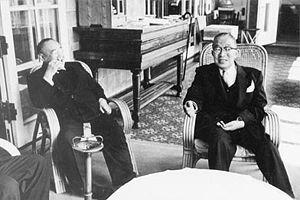 L-R: Grandpa Yoshida and Grandpa Hatoyama